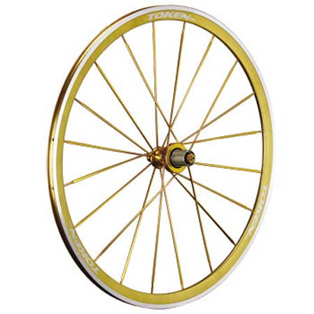 ANODIZED ALLOY CLINCHER WHEELSET gold