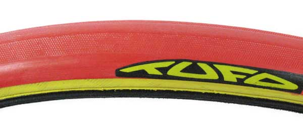 C S 3 LITE < 215g TEW tubular clincher red/yellow