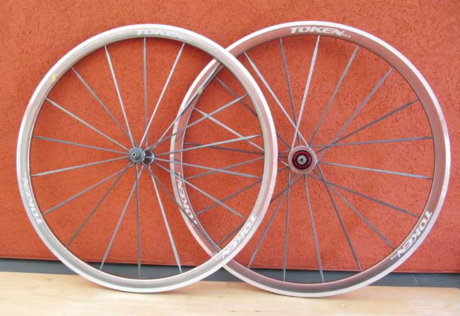 ANODIZED ALLOY CLINCHER WHEELSET grey