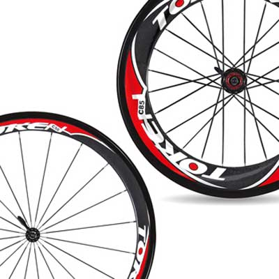 CARBON CLINCHER TT WHEELSET