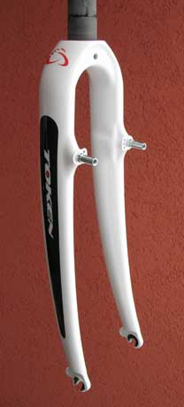"CARBON CX FORK 1 1/8"" white"