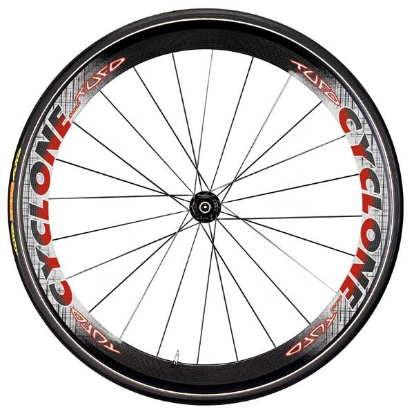 CYCLONE - TUBULAR CARBON WHEELSET SHIMANO