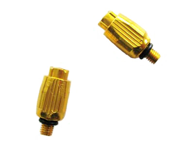 DOWN TUBE CABLE ADJUSTER gold