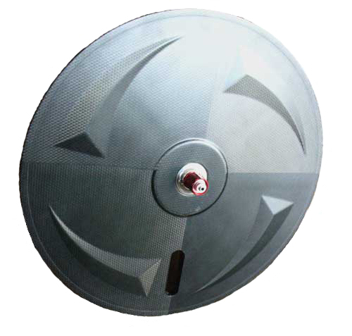 TUBULAR CARBON DISC WHEEL rear