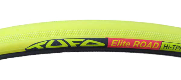 ELITE ROAD 23 TUBULAR yellow/black - Click Image to Close
