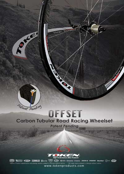 OFFSET TUBULAR CARBON WHEELSET