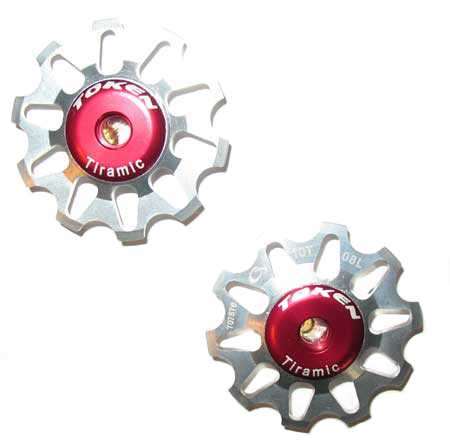 REAR DERAILLEUR PULLEY SET silver C