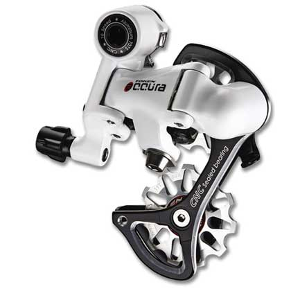 TOKEN ACCURA REAR DERAILLEUR white