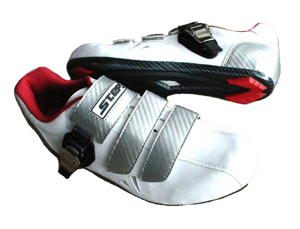 STEP RACING SHOES M 42 white/silver