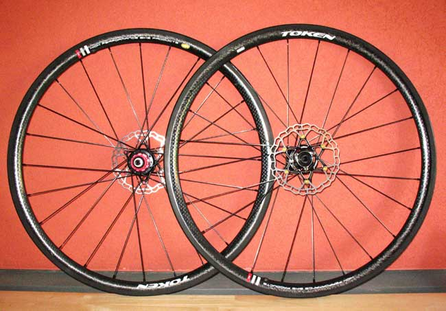 T33CX CYCLOCROSS TUBULAR WHEELSET