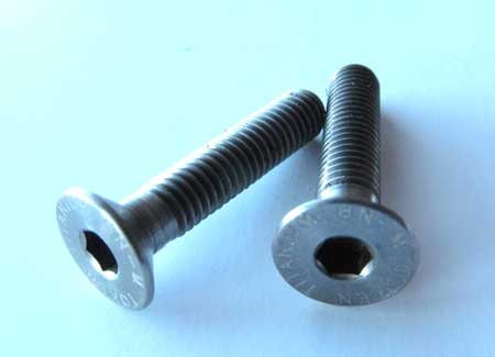 TI BOLTS FOR TOP CAP