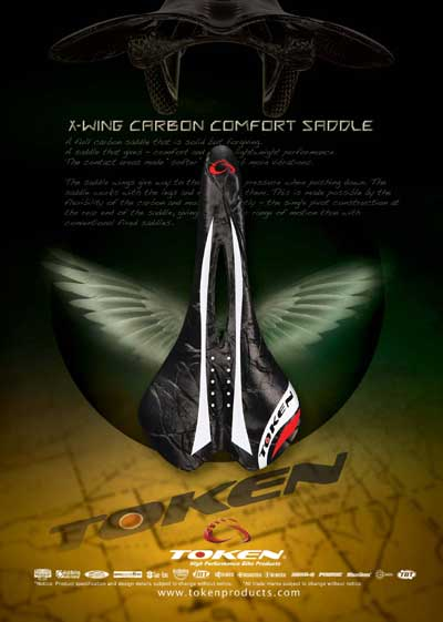 X WING CARBON SADDLE