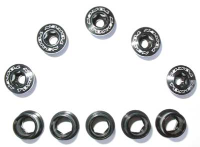 BOLT/NUT SET black S