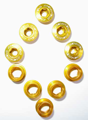 BOLT/NUT SET gold S