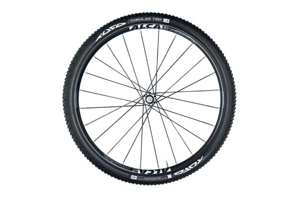 ALCA TUBULAR MTB WHEELSET black