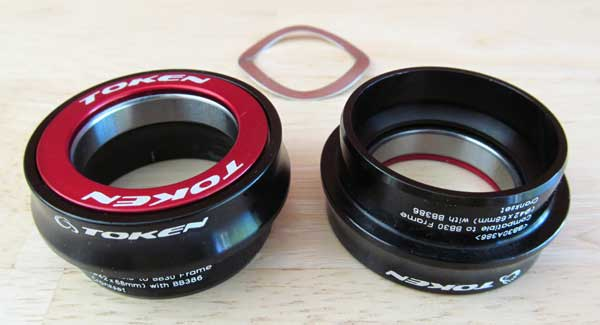 BOTTOM BRACKET BB30A386 black