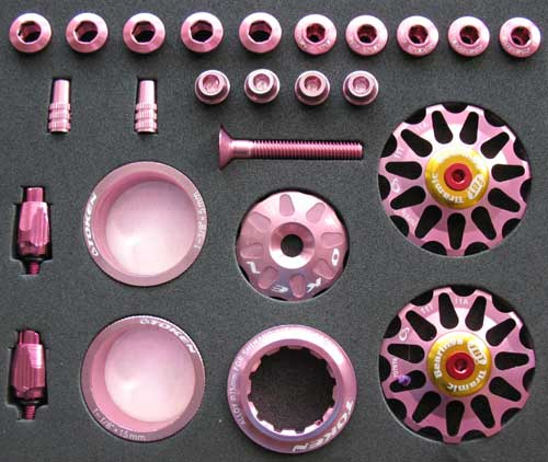 ROAD CUSTOM PARTS KIT pink