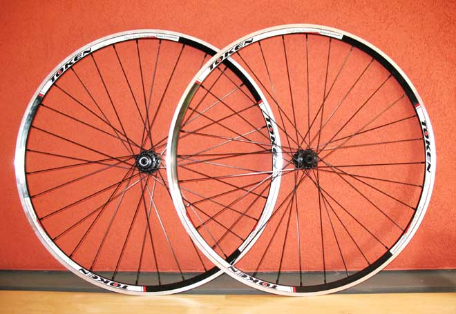 C22AH ALLOY CLINCHER WHEELSET