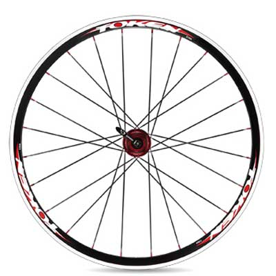 ALLOY CLINCHER ROAD WHEELSET C30AC