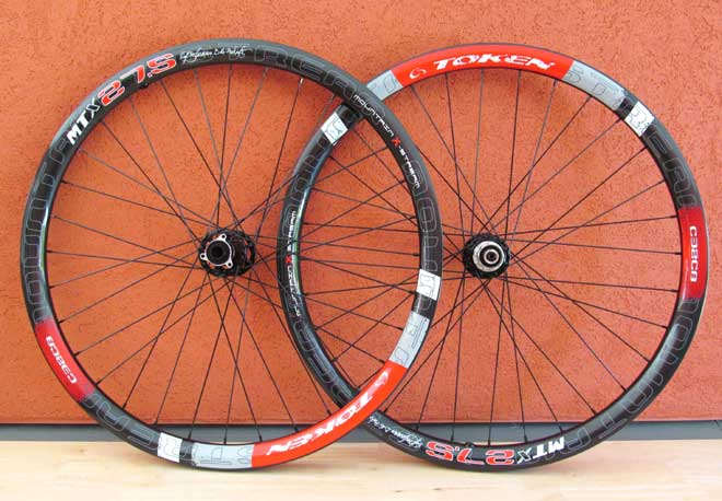 "C32CB CARBON CLINCHER 27.5"" WHEELSET"