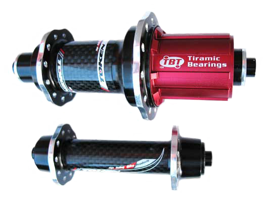 CARBON ALLOY HUBSET ROAD 520 black