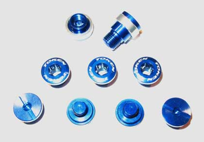 BOLT/NUT SET blue C