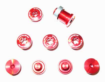 BOLT/NUT SET red C