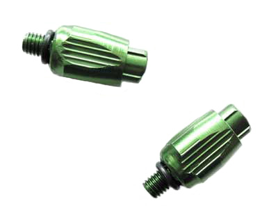 DOWN TUBE CABLE ADJUSTER green