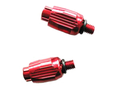 DOWN TUBE CABLE ADJUSTER red