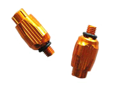 DOWN TUBE CABLE ADJUSTER orange