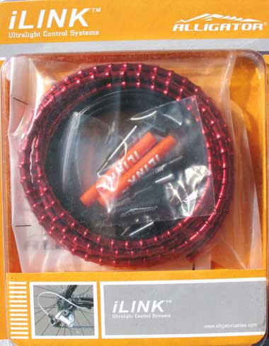 iLINK BRAKE CABLE KIT red