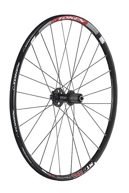 MC22A ALLOY MTB WHEELSET 26""