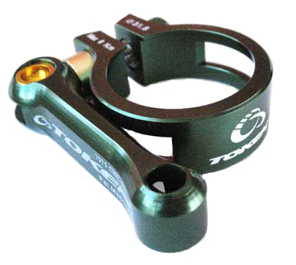 MTB SEAT CLAMP 34.9 green