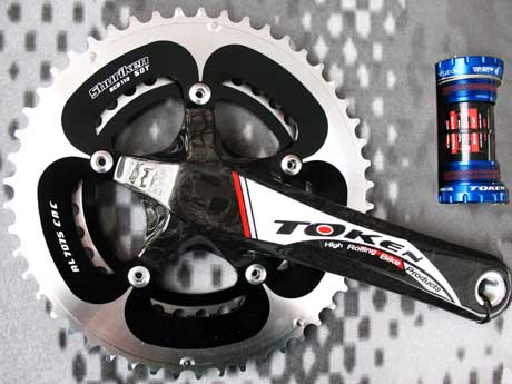 HOLLOW ARM CARBON CRANKSET C175