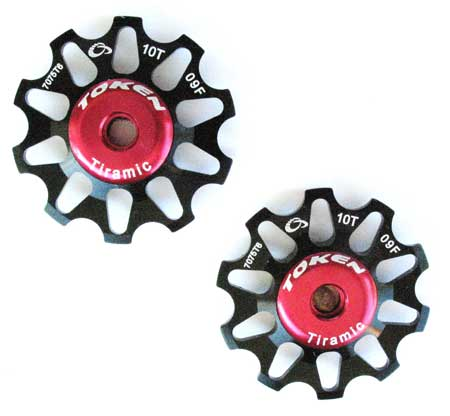 REAR DERAILLEUR PULLEY SET black C