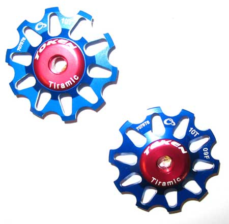 REAR DERAILLEUR PULLEY SET blue C