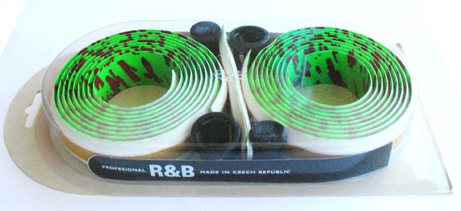 R&B HANDLEBAR TAPE green/dark red