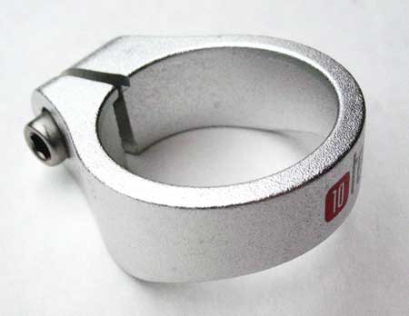 Alloy Seat Clamp 34.9 silver