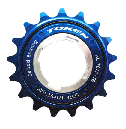 SINGLE SPEED FREEWHEEL blue