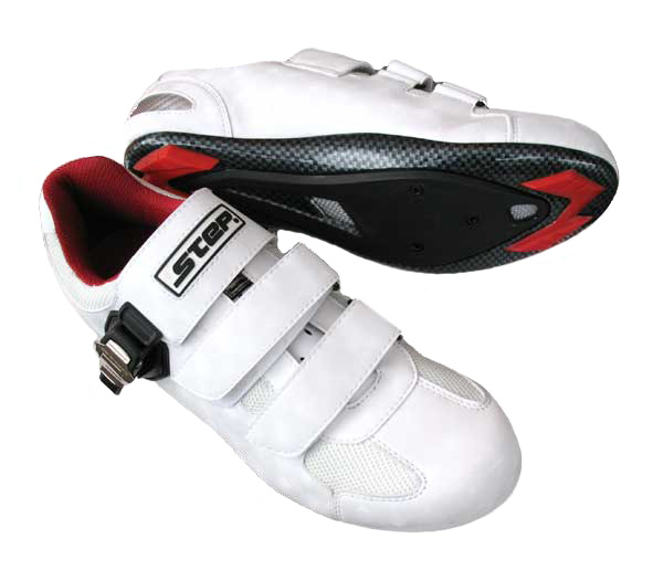 STEP RACING SHOES M 42 white