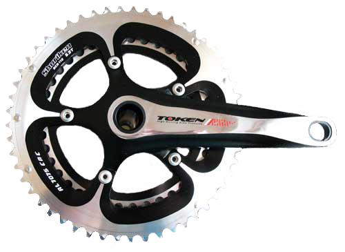 ALLOY INTEGRATED CRANKSET 172.5-50/34
