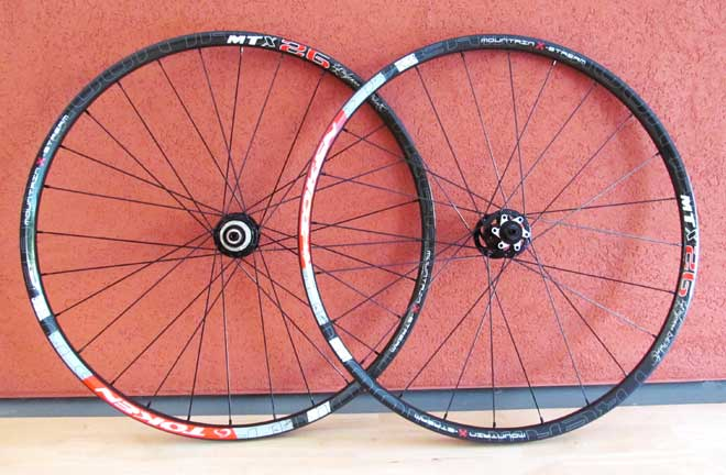 MTB CARBON CLINCHER WHEELSET 26""