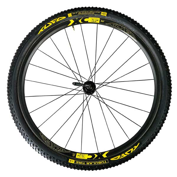 XC LP MTB TUBULAR CARBON WHEELSET